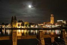Zwolle by night. Foto by Dirk Veldkamp