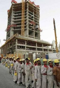 #Darkside of Dubai :enddubaislavery #modernslavers #workersnotfree. Most of the luxurious comfort of Dubai was built with slave labour.