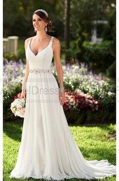 Stella York Chiffon  Wedding  Dresses  Style  6018 on sale at reasonable prices, buy cheap Stella York Chiffon  Wedding  Dresses  Style  6018 at www.feeldress.com now!