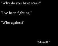 That -very real- thing that makes people so uncomfortable to talk about- self harm awareness