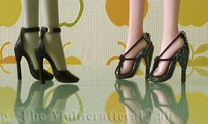 How to make stilettos for Monster High or any 1/6 scale dolls
