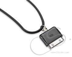 iPhone Necklace Strap - Black
