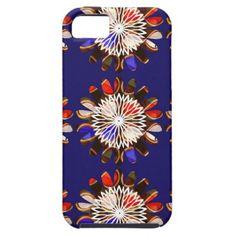 NVN6 Elegant BLUE Sunflower Sun CHAKRA NavinJOSHI Case For iPhone 5/5S