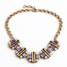 DressLily - Dresslily Classic Rhinestone Floral Necklace For Women - AdoreWe.com
