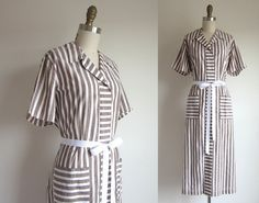 1940s Dress   Vintage 1940s House Dress   by TulleandTiaraVintage 29d847906