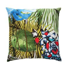 Discover the Christian Lacroix Jardin Exo'Chic Cushion - Bougainvillier at Amara
