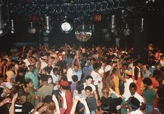 The floor at Paradise Garage.