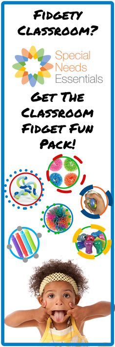 Have a fidgety classroom? Get what you need for your class with our Classroom Fidget Fun Sensory Pack. Including 6 of all items shown, and more! Autism Activities, Occupational Therapist, Teacher Favorite Things, Special Needs, Counseling, Jr, Therapy, Husband, Bullet Journal