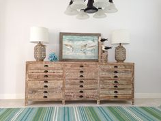 Coastal Apocathery Chest, by Andrea Z from Indian River Furniture.