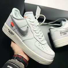 94d22b2a14b1fc Virgil Abloh x Nike Air Force 1 Low Off-White AF100 White Air Force 1