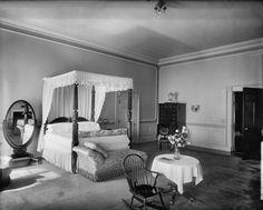 Queens 39 Bedroom Or Rose Bedroom Of The White House In 1920 1920 39 S H