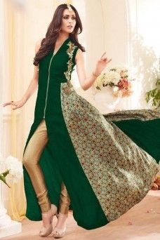 Green and Beige Pant Style Embroidered Party Wear Straight Cut Anarkali Suit  #greensuit #beige #pantstylesuit #suits #dress #anarkali #straightcutanarkali #ethnicwear #bridal #occasionally #stylish #fancy #suits #dressmaterial #dresses #model #germany #bangkok #canada #london #style #beauty #bridal_wear #anarkali #indian_ethnic_collection #designer_pantsuit #party_suit #wedding_collection #women_fashion #georgette_suits