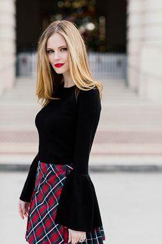 ec42c452a9 Christmas Plaid - The A List - A Blog By Alyssa Campanella Business Outfits  Women