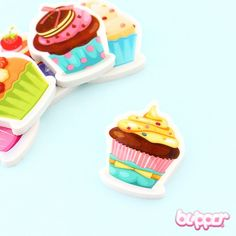Sweet Cupcake Eraser