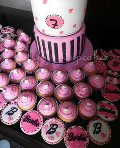Barbie by Mily'sCupcakes, via Flickr