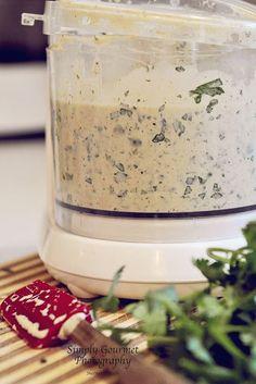 Sauce: Yogurt, mayo, lime, jalapeno, cilantro, onion, garlic, cumin, chili powder  (BEST SAUCE for fish tacos!)