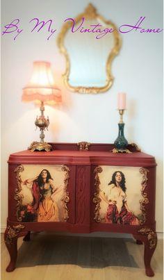 Decor, Furniture, Cabinet, Vintage House, Home Decor, Storage, Vintage