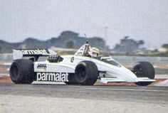 BRABHAM BT51 a scrapped project of ground-effect car for 1983