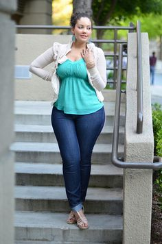 Spring Inspiration Big beautiful real women with curves fashion accept your body plus size body conscientiousness