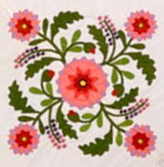 Barbara Brackman's MATERIAL CULTURE: Emporia Quilts: Rose Kretsinger's Pennsylvania Beauty
