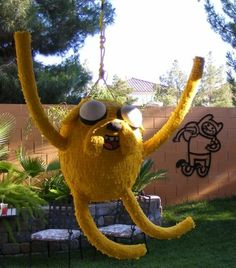 Fun Adventure Time Party Ideas: Pinata