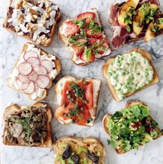 There's so much you can do with toast! Here are 9 of my favourite ways!