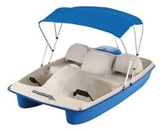Sun Dolphin Water Wheeler 5-Person Electric Pedal Boat with Canopy | Bass Pro Shops                                     This is perfect!!!