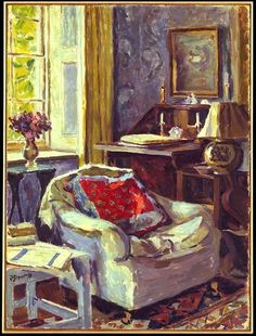 Artist's Study at Charleston / Duncan Grant