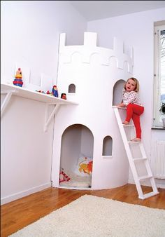 Corner castle tower ...would be cool for the playroom. Maybe a corner space ship?!?