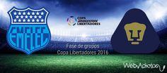 Emelec vs Pumas, Copa Libertadores 2016 ¡En vivo por internet! - https://webadictos.com/2016/04/13/emelec-vs-pumas-copa-libertadores-2016/?utm_source=PN&utm_medium=Pinterest&utm_campaign=PN%2Bposts
