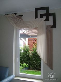 35 Modern Windows Curtains For Ending Your Home Improvement - Fenster Modern Window Coverings, Unique Window Treatments, Contemporary Window Treatments, Valance Window Treatments, Rideaux Design, Diy Casa, Modern Windows, Diy Curtains, Bedroom Window Curtains