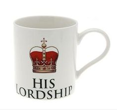 His Lordship - China mug gift boxed by Leonardo China Mugs, Craft Business, Unusual Gifts, Fine China, Home Accessories, Kitchen Dining, Tea Pots, Interior Decorating, Tableware