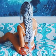 Her hair makes me think of mermaids! <3