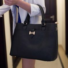 $22.23 Office Women's Handbag With Metallic and Solid Color Design
