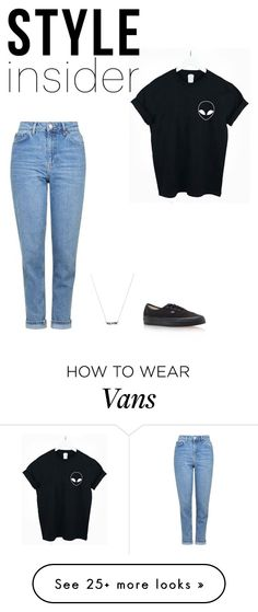 """Bez tytułu #409"" by ola-smigielska on Polyvore featuring WithChic, Topshop, Vans, contestentry and styleinsider"