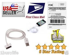 Look what I found on @eBay! http://r.ebay.com/tzsBpD  New 30 pin USB Data Sync Charger Cable Lot For Apple Iphone 4S 4 4G 3GS 3G Ipod #ebay#ebaymobile   #ebaysellers   #ebayuk   #ebayusa