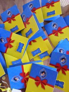 Snow White invitations. Convite da Branca de Neve by Roberta Vasconcelos Personalizados