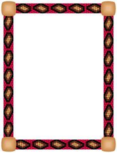 Native american writing paper