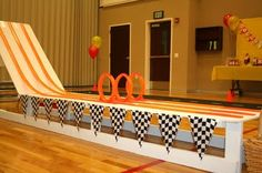 Hot Wheels track....yeah, I think I might have to give up some garage space to build this for Blake