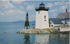 Grindel Point Light, Islesboro, Maine, USA