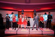 Daniela and Brooke's South Florida B'Not Mitzvah. Justin Kratish with Triple P Entertainment even brought the girls up on the stage to dance in their matching red sneakers. #BNotMitzvah #BNotMitzvah #Ceremony #Party #BNotMitzvah #BNotMitzvah #photography #photoshoot #happy #dominoarts #florida #photos #SouthFloridaPhotographer #MiamiPhotography #dominoartsphotography #MitzvahPhotographer #Blog #DominoArtsBlog #MitzvahBlog (www.dominoarts.com)