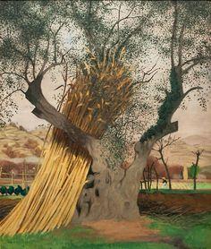 Felix Vallotton - Nabi Period - Le vieil olivier - The old olive tree - 1922 Pierre Bonnard, Manet, Edouard Vuillard, Landscape Art, Landscape Paintings, Nature Paintings, Oil On Canvas, Canvas Prints, Art Moderne