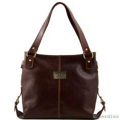 Fraaie kalfsleren damestas, verkrijgbaar in verschillende kleuren.De binnenkant heeft o.a. 3 vakken, waarvan één met rits.Daarnaast heeft deze prachtige tas nog drie kleine vakjes aan de binnenkant -