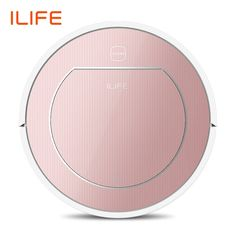 ILIFE Plus Robot Vacuum Cleaner Sweep&Wet Mop Simultaneously For Hard Floors&Carpet Run before Automatically Charge-in Vacuum Cleaners from Home Appliances on AliExpress