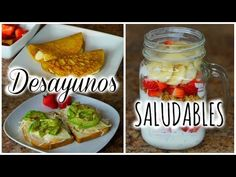 3 IDEAS DE DESAYUNOS SALUDABLES! | RECETAS FÁCILES Y DELICIOSAS! - YouTube