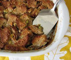 Coconut Milk Bread Pudding #Recipe