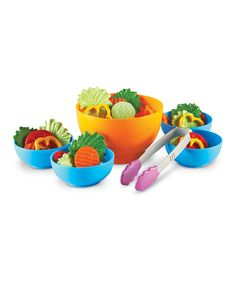 Another great find on #zulily! New Sprouts® Garden Fresh Salad Toy Set by New Sprouts #zulilyfinds