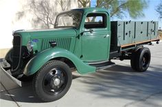 Available* at Scottsdale 2017 - Lot #36.1 1936 FORD STAKE BED TRUCK