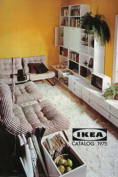 The 1975 IKEA catalogue - the year IKEA arrived in Australia.