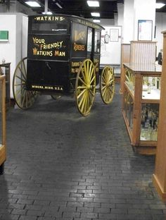 Watkins Museum & Store, dedicated to the history of the Watkins company, creating natural products since 1868, Winona, MN.